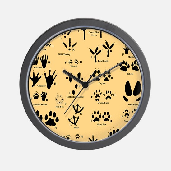 floridasmallltorange Wall Clock