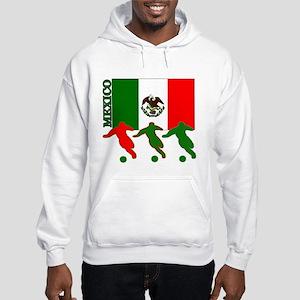 Soccer Mexico Hooded Sweatshirt