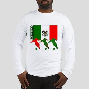 Soccer Mexico Long Sleeve T-Shirt