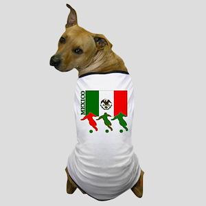 Soccer Mexico Dog T-Shirt