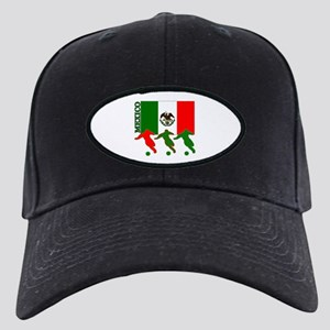 Soccer Mexico Black Cap