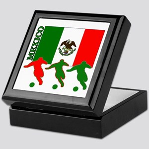 Soccer Mexico Keepsake Box