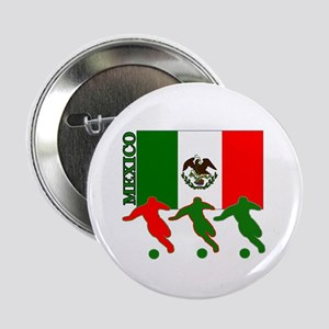 """Soccer Mexico 2.25"""" Button (10 pack)"""