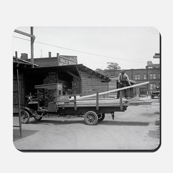 Kelly's Lumber Delivery Truck Mousepad