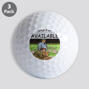 MORTICIAN Golf Balls