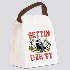 GettinDirty_Mod_4 Canvas Lunch Bag