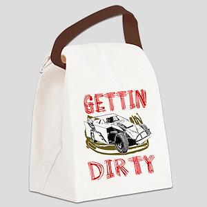 GettinDirty_Mod_4 Canvas Lunch Bag