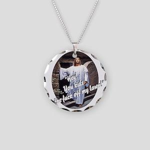 resurrectiondark10x10 copy Necklace Circle Charm