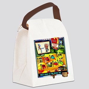 drive in  Canvas Lunch Bag