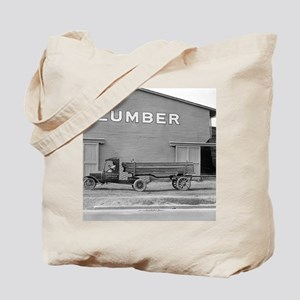 Early Ford Tractor Trailer Tote Bag