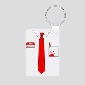 Dexter Suit Aluminum Photo Keychain