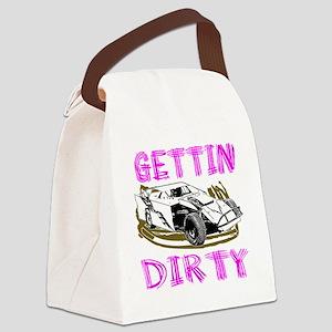 GettinDirty_Mod_6 Canvas Lunch Bag