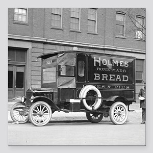 """Holmes Bakery Delivery T Square Car Magnet 3"""" x 3"""""""
