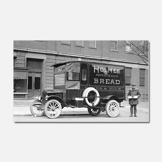 Holmes Bakery Delivery Truck Car Magnet 20 x 12