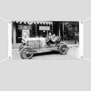Pikes Peak Champion Race Car Banner