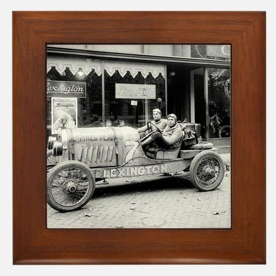 Pikes Peak Champion Race Car Framed Tile