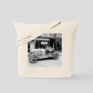 Pikes Peak Champion Race Car Tote Bag