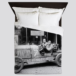 Pikes Peak Champion Race Car Queen Duvet