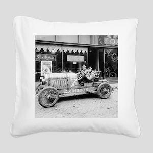 Pikes Peak Champion Race Car Square Canvas Pillow