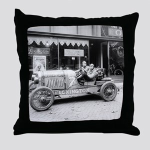 Pikes Peak Champion Race Car Throw Pillow