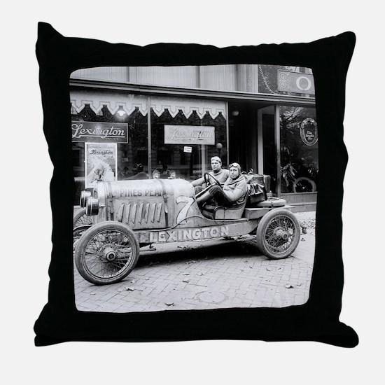 Pikes Peak Champion Race Car Throw Pillow