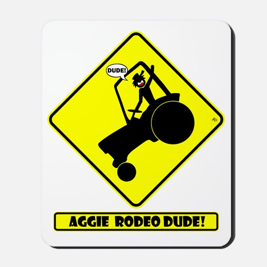 tractor-aggie-yd Mousepad