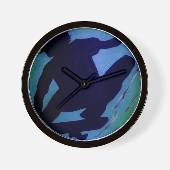 skateboard shirtbrighter Wall Clock