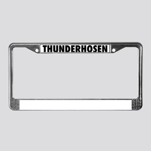 2-thunderhosen License Plate Frame