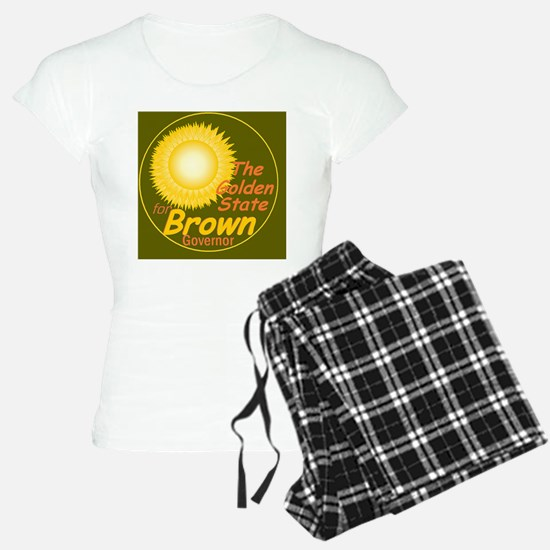 BrownGoldBr E Pajamas