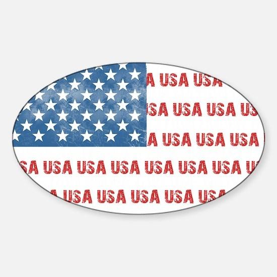 ONE NATION UNDER GOD Sticker (Oval)