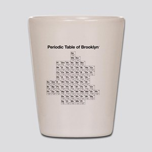 2-periodictable_brooklyn Shot Glass