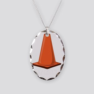 got-cone-1t Necklace Oval Charm