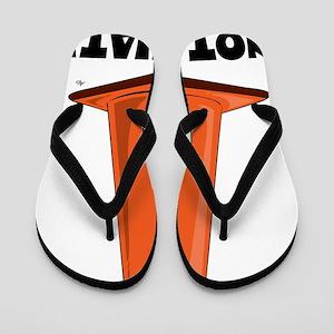 cone-hat-2t Flip Flops