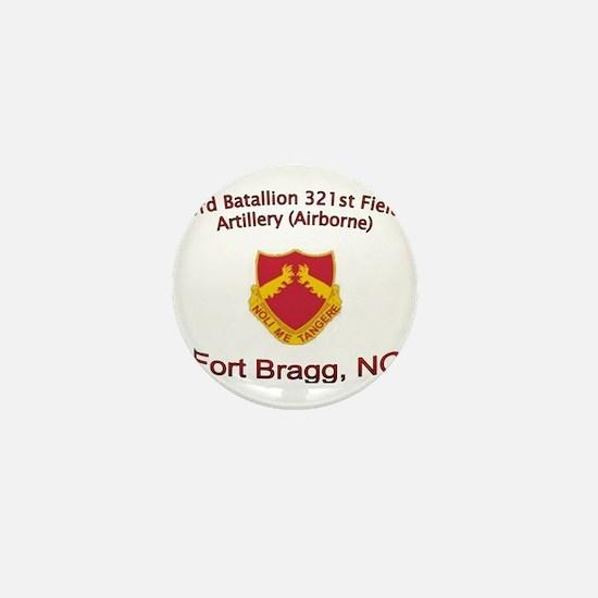 3rd Bn 321st FA Mini Button