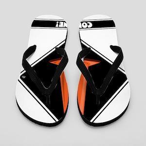 cone-zone-dmnd-bk Flip Flops
