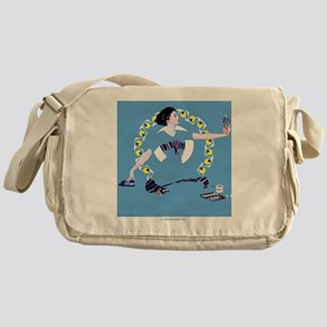 LIFE MAGAZINE, A TROUBLESOME TOY, SE Messenger Bag