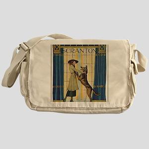 SCRANTON CURTAINS - 01, N.D Messenger Bag