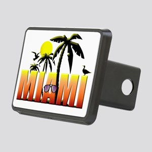 miami Rectangular Hitch Cover