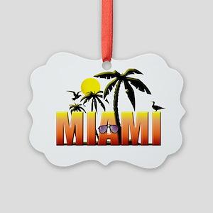 miami Picture Ornament