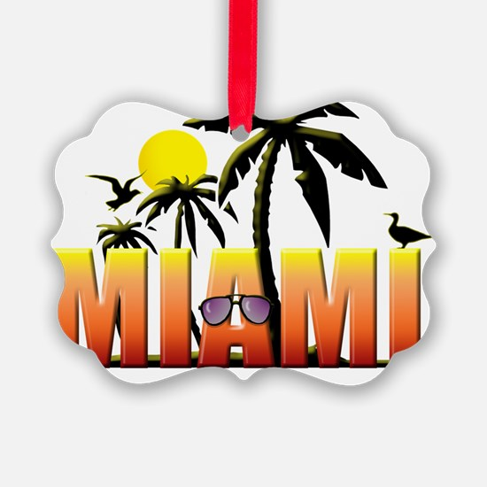 miami Ornament
