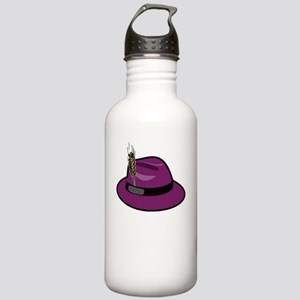 fedora-purple-large-bl Stainless Water Bottle 1.0L