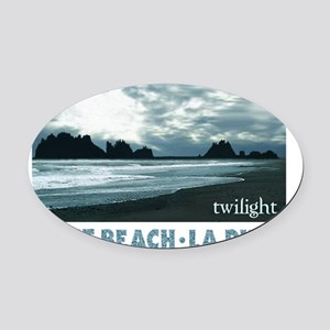 Twilight La Push Oval Car Magnet