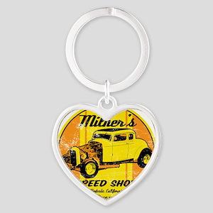 Milners Heart Keychain