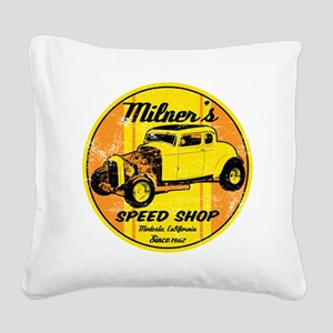 Milners Square Canvas Pillow