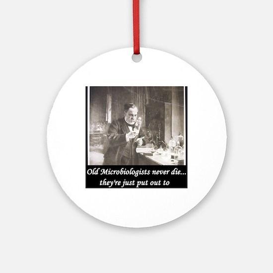 3-Pasteur3 Round Ornament