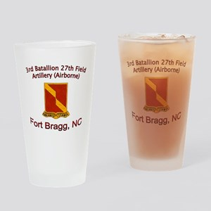 3rd Bn 27th FA Drinking Glass