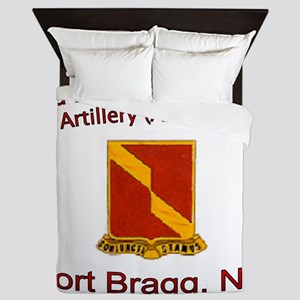 3rd Bn 27th FA Queen Duvet