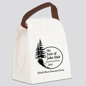 shirt front Canvas Lunch Bag