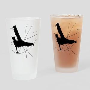 Breakdance Flow Drinking Glass