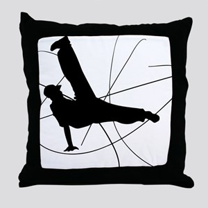 Breakdance Flow Throw Pillow